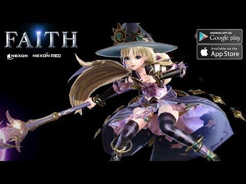 FAITH By NEXON Gameplay Android - IOS MMORPG