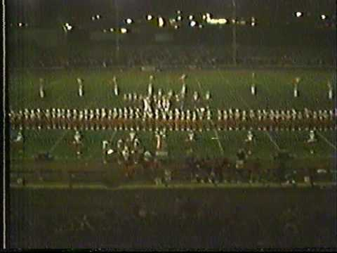 1983 Homecoming Game - Halftime Show & Queen Announcement, Date Unknown