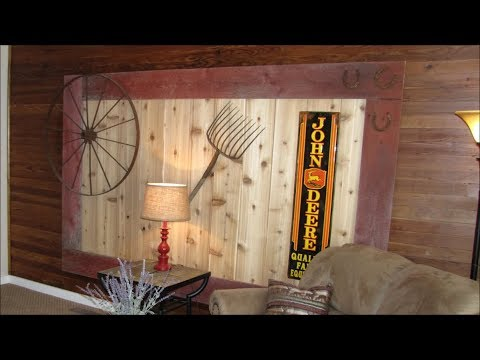 Farmhouse renovation DIY Repurpose OLD BARN BOARDS from homestead
