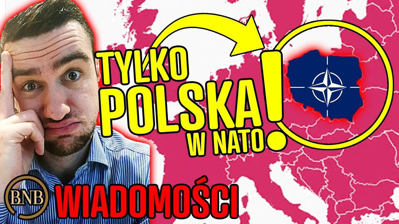 Tylko Polska popiera NATO! Niemcy i Francja się WYCOFUJĄ | WIADOMOŚCI