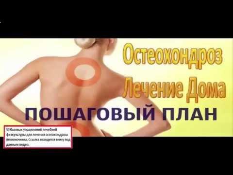 Народная медицина - лечение остеохондроза народными средствами