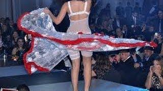 فضييييييييييييييييييييييييييحه سقوط فستان صافيناز في حفل راس السنه وشاهد ماذا يحدث بعد ذلك مسخره