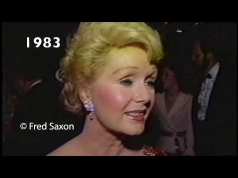 Debbie Reynolds at Thalians fundraiser 1983
