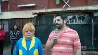 Daniel Farcas junto a Carlos Cruzat en Renca