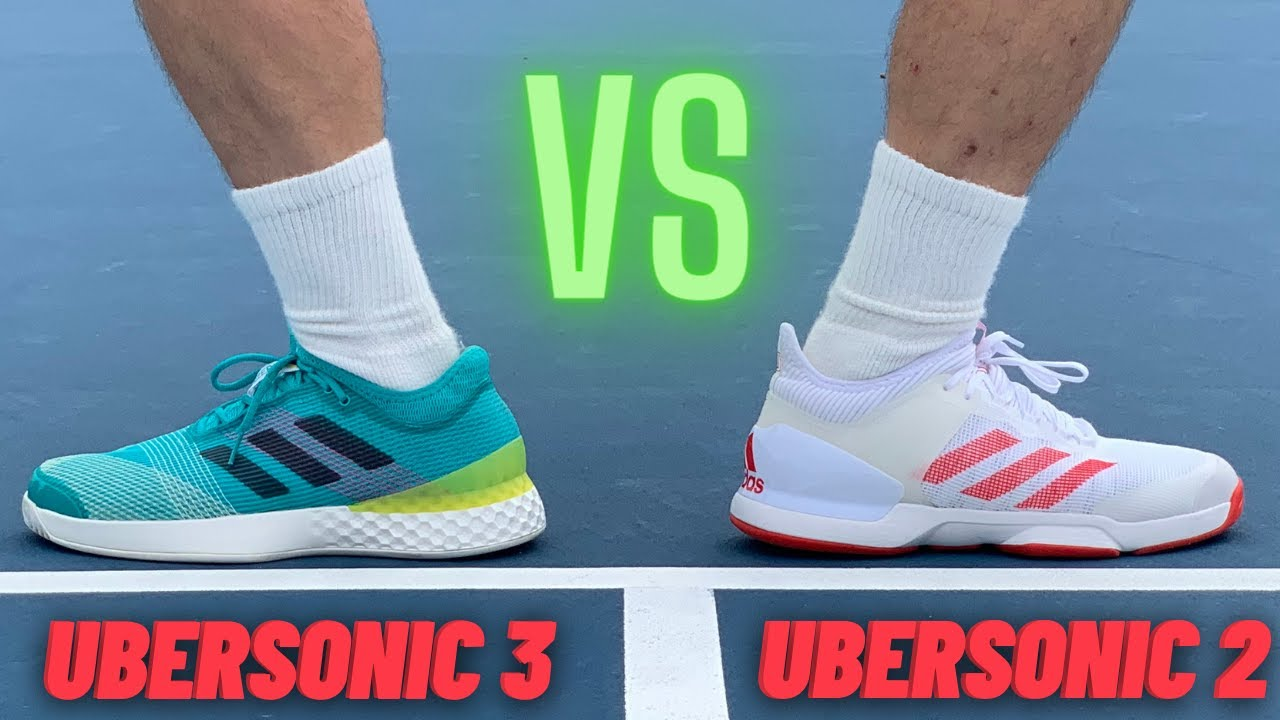 Casi Descripción Diploma  adidas Ubersonic 2 Vs adidas Ubersonic 3- Which One Is Worth Your Money? |  Foot Doctor Review - YouTube