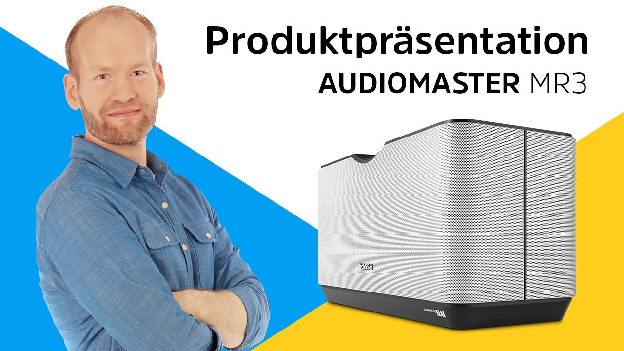 Video: AUDIOMASTER MR3 | Wireless-Speaker für ein 3D-Sounderlebnis der Extraklasse. | TechniSat