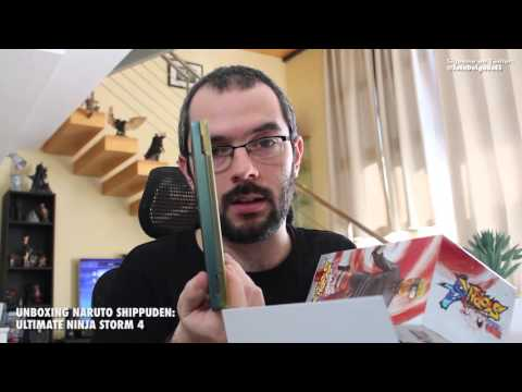 Unboxing NARUTO SHIPPUDEN: ULTIMATE NINJA STORM 4