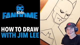 Draw Along with Jim Lee | DC Kids FanDome | Cartoon Network UK
