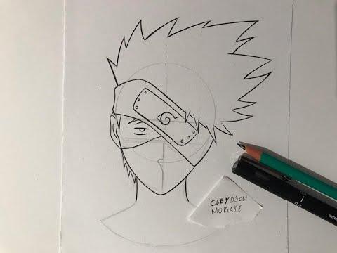 Como Desenhar Kakashi