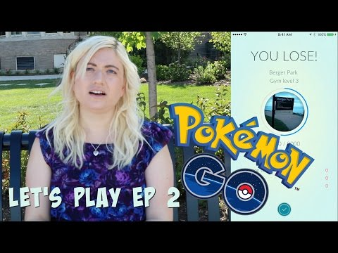POKEMON GO LET'S PLAY - EP 2 - I HIT ON A GUY (Teams, Battles, Eggs)
