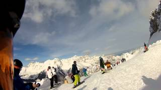 Repeat youtube video Tarvisio & Sella Nevea 2013 (Italy) - Four Days of Skiing