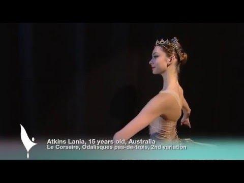 Lania Atkins - 2016 Prix de Lausanne selections - classical variation