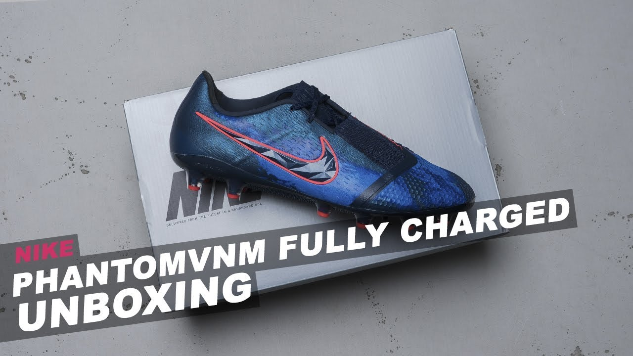 b53fca458b7b UNBOXING: Nike Phantom Venom Fully Charged Pack - YouTube