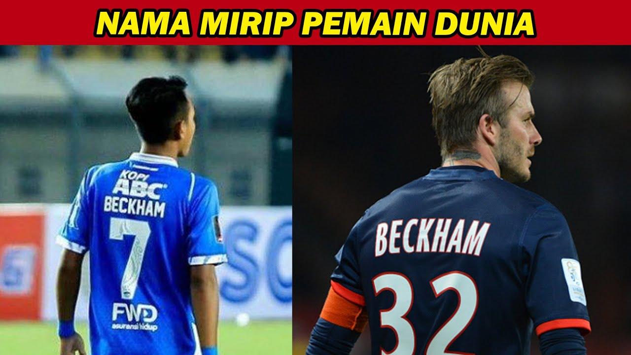 MIRIP! 5 Nama Pemain Timnas yang Mirip Pemain Top Dunia