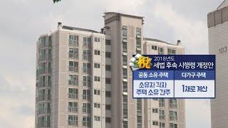 다가구주택 1채로ㆍ공동소유 각자 1채로 종부세 계산 / 연합뉴스TV (YonhapnewsTV)