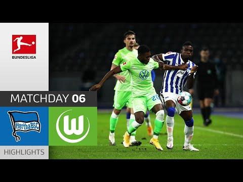 Hertha Berlin - VfL Wolfsburg | 1-1 | Highlights | Matchday 6 – Bundesliga 2020/21