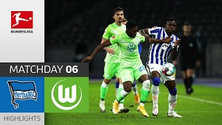 Hertha Berlin - VfL Wolfsburg | 1-1 | Highlights | Matchday 6 – Bundesliga 2020/21