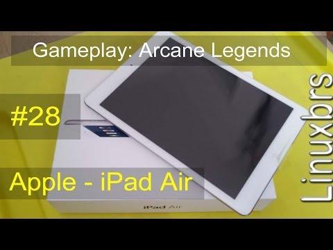 Gameplay IOS 7.0.4 - Arcane Legends - Apple IPad Air - PT-BR - Brasil