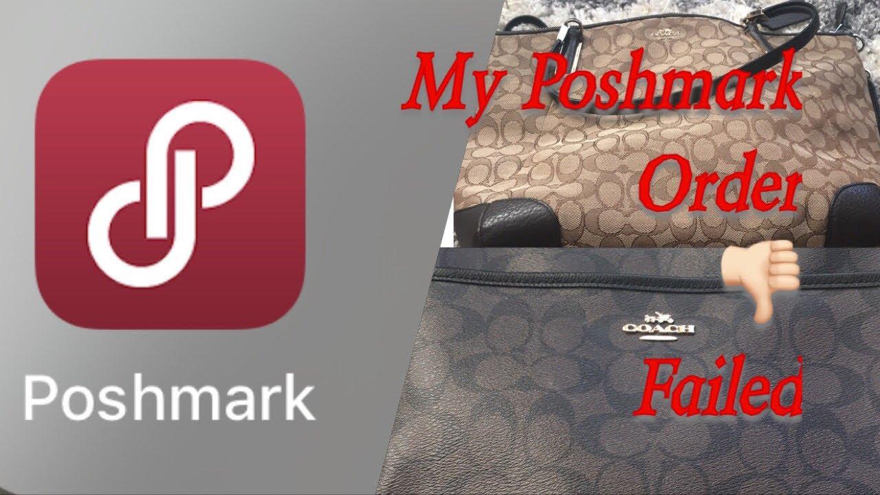 My 1st Poshmark order: Failed / Fake