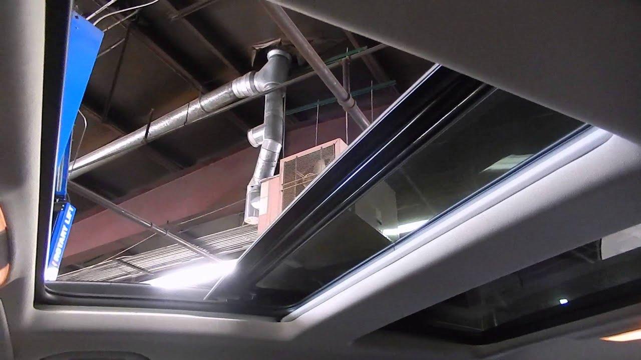 stk a15072 2011 mercedes glk 350 sunroof test video
