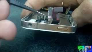 видео iPhone 4 проблема кнопка Home