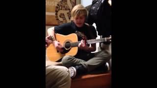 American Idol Contestant D.J. Bradley - Original song 1/16/2014