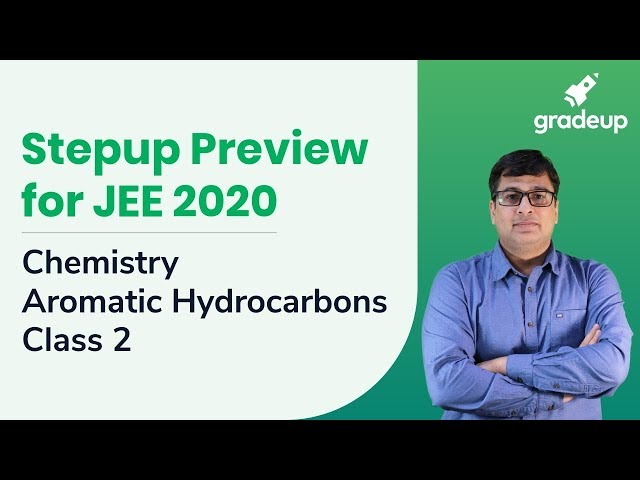 Stepup Preview JEE 2020 | Chemistry : Aromatic Hydrocarbons Class 2