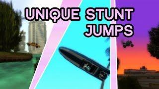 GTA: Vice City Stories — All 36 Unique Stunt Jumps Guide