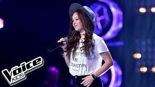 """Zuzia Jabłońska – """"7 Years"""" – Przesłuchania w ciemno – The Voice Kids Poland"""