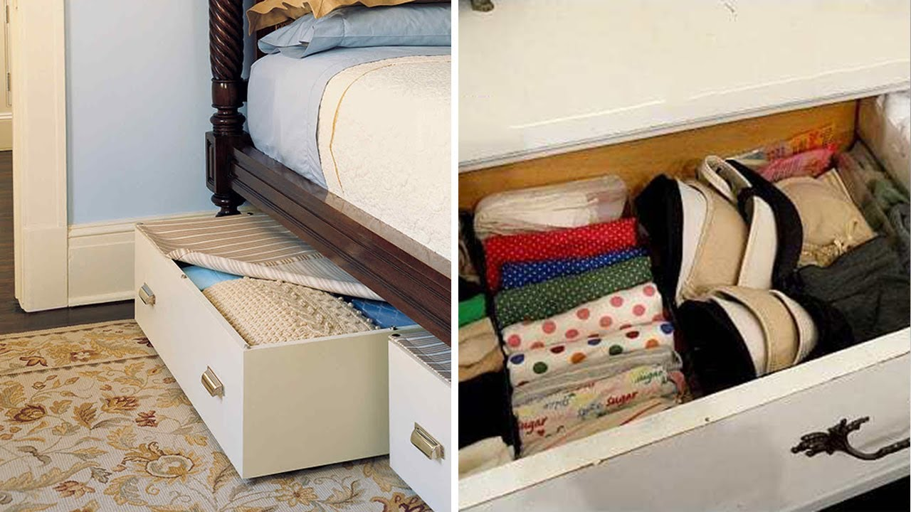 10 Smart Ideas to Organize Your Bedroom