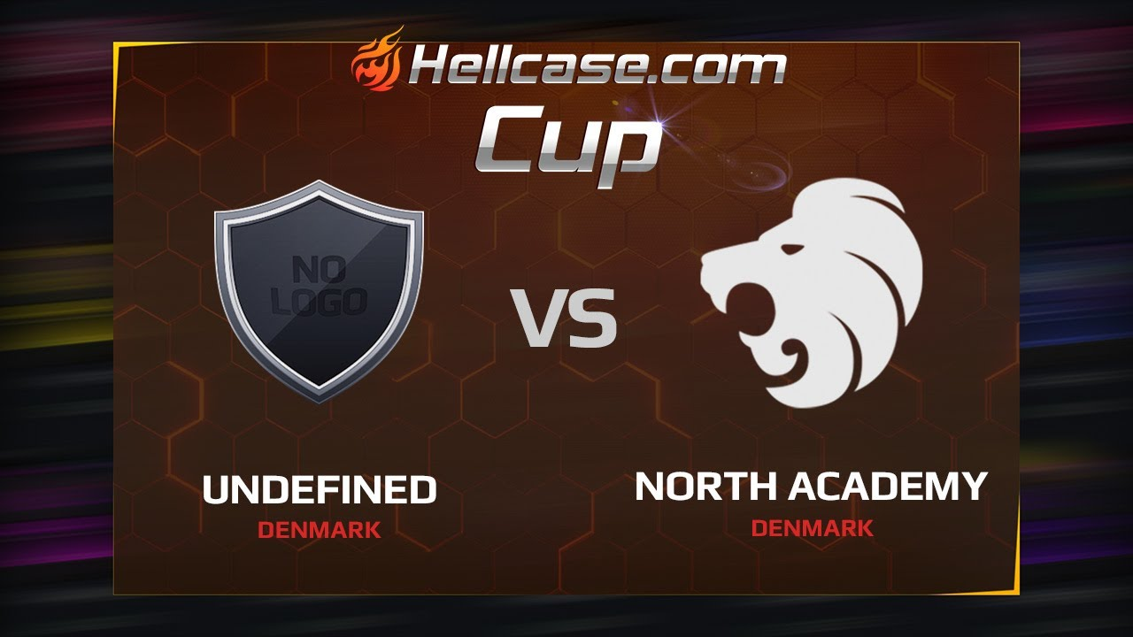 [EN] ex-undefined vs North Academy, map 1 mirage, Hellcase Cup Season 5