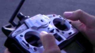 Testflug MJX F45 , F645, mit Brushless Vector Inrunner, 370er 6900KV
