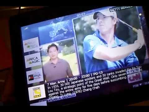 dstv walka 7-inch mobile tv device [demo] - youtube - Mobile Tv Dstv