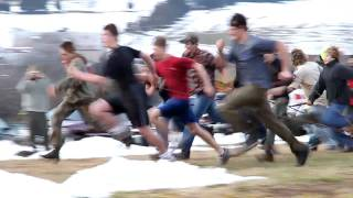 Bsa Troop 72 Sled Race At 2010 Klondike