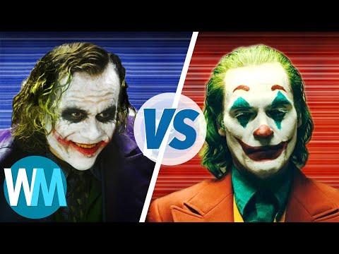 Le Joker d'HEATH LEDGER vs. le Joker de JOAQUIN PHOENIX