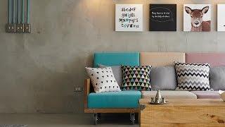 【裝潢影片】夏日清爽舒適的居家設計:色彩搭配
