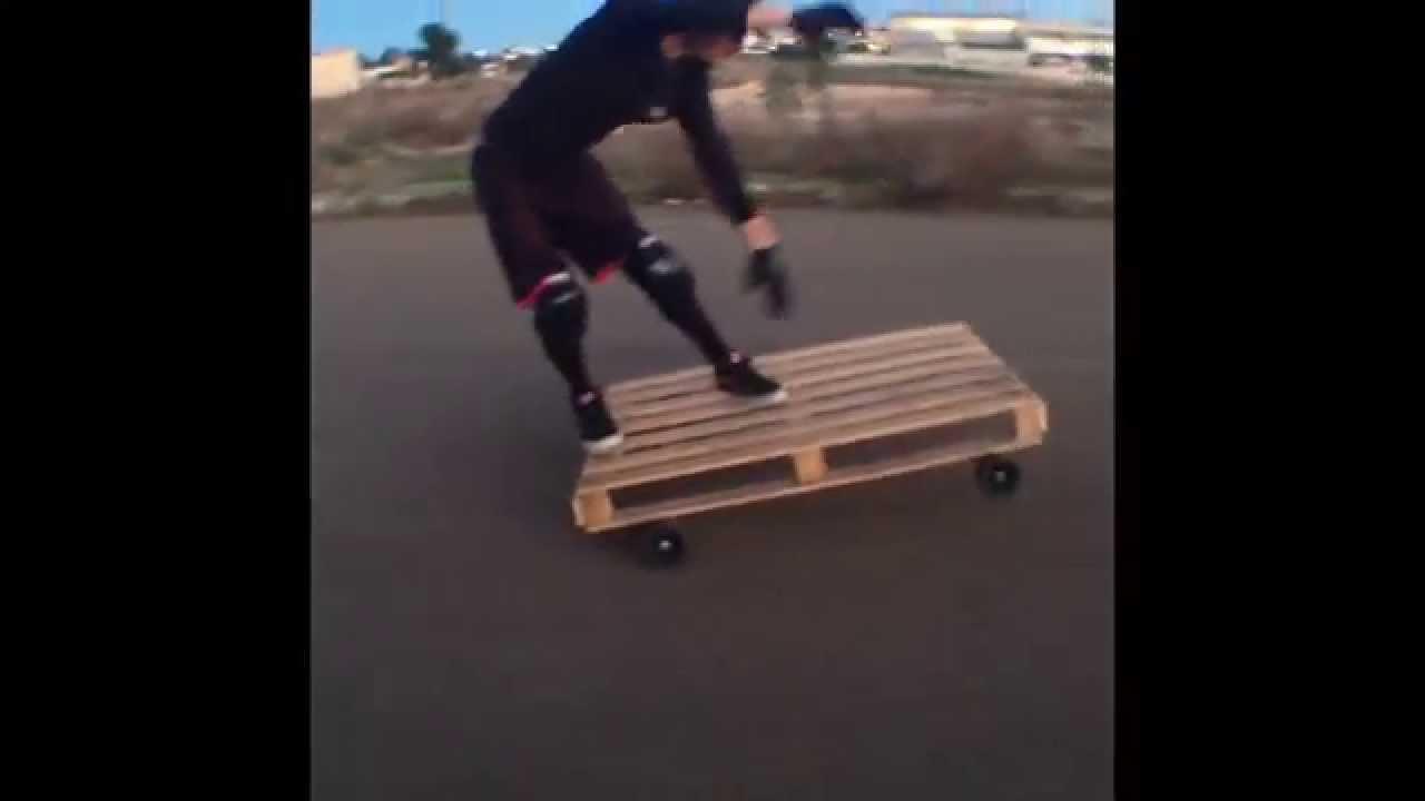 PALLET vs MANual Skateboard #amazing - YouTube