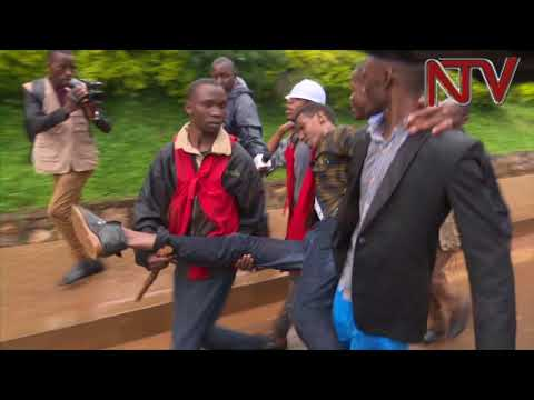 STRIKE SEASON: Makerere University students resist new changes in University policy