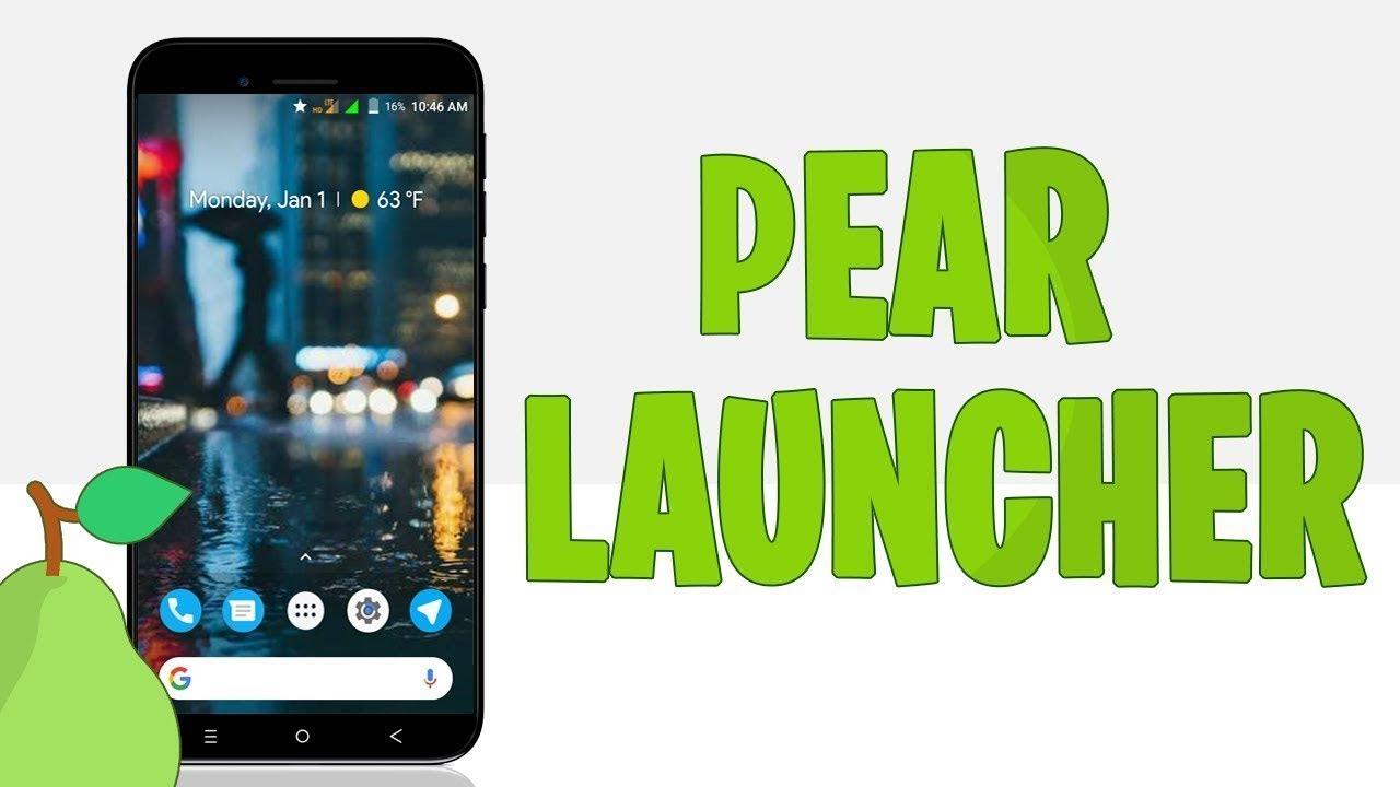 Pear Launcher v2.0.2 [Pro] Apk