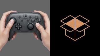 Розпакування Nintendo Switch Pro Controller