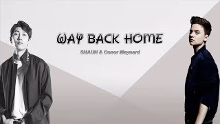 Gambar cover 1 Hour ✗ SHAUN – Way Back Home (feat. Conor Maynard) [Sam Feldt Edit]