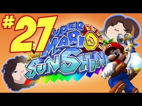 """Super Mario Sunshine: Danger Pudding – PART 27 – Game Grumps"""
