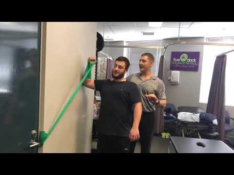Rotator Cuff Strengthening Progression Above Head