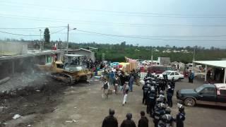 Desalojo en tempiluli 9 de julio 2015