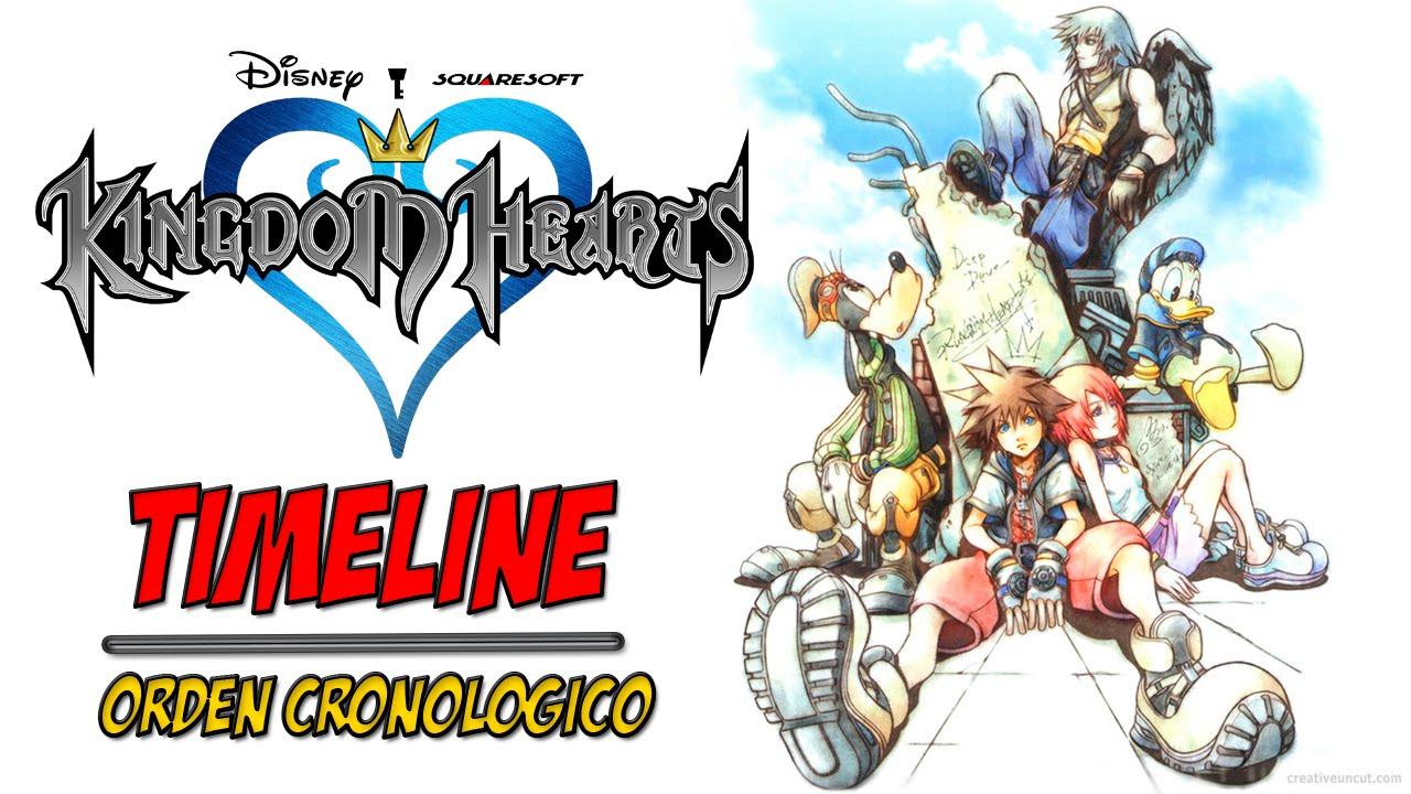 En Que Orden Debes Jugar La Saga Kingdom Hearts Orden Cronologico