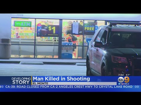 Man Shot And Killed In El Monte 7-Eleven Parking Lot