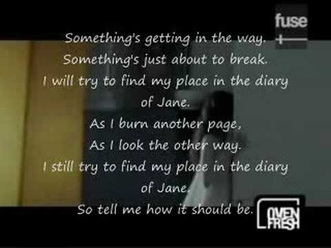 Download The Diary of Jane lyrics and video