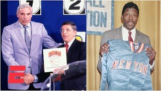 When the Knicks won the first NBA draft lottery and picked Patrick Ewing in 1985 | ESPN Archives