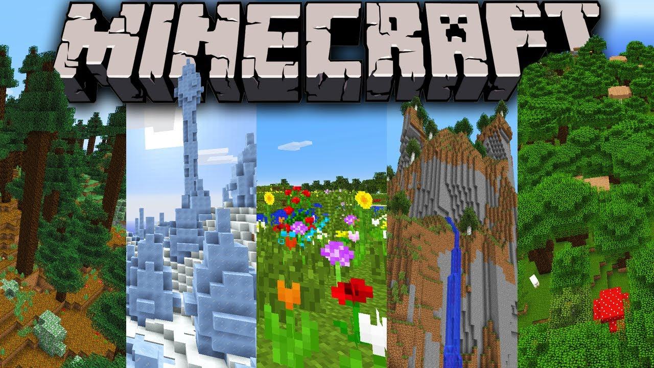 Minecraft 1 7 Snapshot Sky World New Biomes Ice Spikes