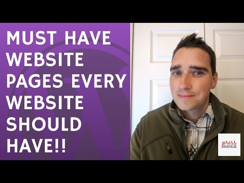 Must Have Website Pages Every Website Should Have - #AskBunka Show Episode 4